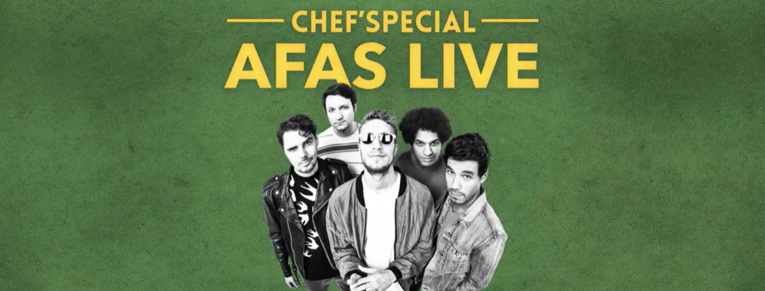 Chef'Special in AFAS Live