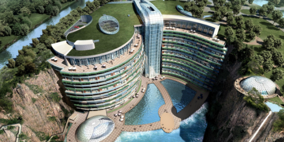 China update - Intercontinental Wonderland Hotel