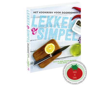 Earth loterij taste of christmas earth concepts for Kookboek lekker en simpel